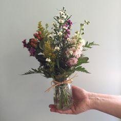 Wildflower Arrangements | Made This Wildflower Arrangement For The  Mississippi Native Plant ... | Wedding Stuff   Kate U0026 Bryan | Pinterest |  Fiore, ...