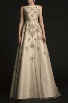agameofclothes:  What Margaery would wear to her trial by the Faith, Krikor Jabotian