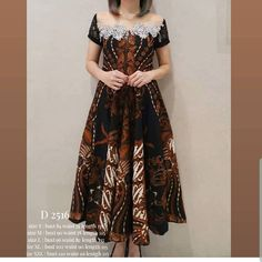 Model Dress Kebaya, Model Dress Batik, Batik Long Dress, Lace Dress, Dress Batik Kombinasi, Elegant Dresses, Beautiful Dresses, Dress Brokat, Blouse Batik