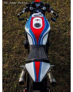 Suzuki GSXR 1100 Cafe Racer by Dino Maltoni #motorcycles #caferacer #motos | caferacerpasion.com