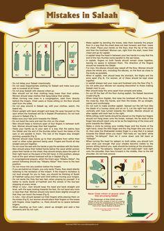 1 Mistakes in Salaah Namaaz By Islamic Posters.jpg (3579×5031)