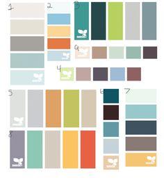 Number 1 is lovely Colour Pallette, Colour Schemes, Color Combos, Interior Paint Colors, Paint Colors For Home, Paint Color Wheel, Beach House Colors, H & M Home, Color Theory