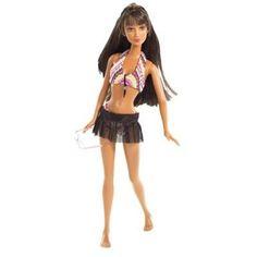 NEW Mattel Barbie Beach Fun Doll 2002 B4147