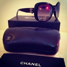 3682758ac6174 Chanel sunglasses, purchases from Saks. I still have the document and the  box I purchased it in.