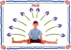 paon modèle Yoga For Kids, Exercise For Kids, Yoga Bebe, Yoga Sport, Mudras, Baby Yoga, Yoga Nidra, Relaxing Yoga, Ashtanga Yoga