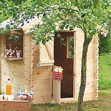 La cabane des enfants jardin enfants cabane bosch les palettes r cup et d tournement - Cabane jardin palette nice ...