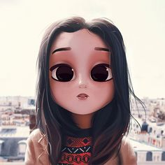 Avatar Beautiful of Dollify - Jutaan Gambar Cute Kawaii Drawings, Cartoon Drawings, Drawing Sketches, Kawaii 365, Kawaii Girl, Cute Cartoon Girl, Couple Cartoon, Amazing Drawings, Amazing Art