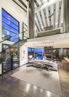 Calvin Harris Los Angeles Mansion - Tour Calvin Harris's Sunset Strip House