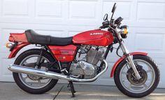 My Rosso...1978 Laverda 500 Alpino