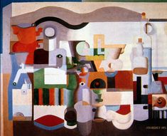le corbusier   Still Life with Numerous Objects