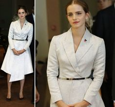 Watson in Dior at the New York launch of HeForShe