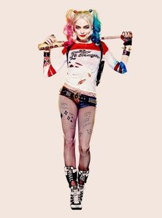 Margot Robbie as Harley Quinn - Suicide Squad