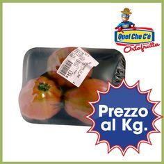 Il classico e pregiato cuore di Bue ottimo per sughi e conserve. Vendita al kg a soli € 2,69!!!