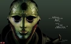 Mass Effect 3 Characters | Download 1280x800 mass effect 3, thane krios, quote, look, character ...