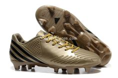 Discount Gold Color Predator Lz FG Soccer Cleats Free Shipping