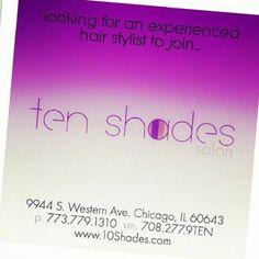 Hiring Hair Stylist (rental)