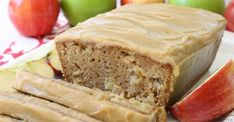 Caramel Apple Bread bursting with fresh apple, spiced with cinnamon and nutmeg, then topped with an incredibly delicious & easy to make caramel glaze. Caramel Apple Bread is the perfect recipe for quick sweet bread this Dutch Apple Bread Recipe, Best Bread Recipe, Quick Bread Recipes, Apple Recipes, Fall Recipes, Cooking Recipes, Apple Desserts, Loaf Recipes, Banana Recipes