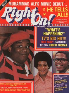 This Feb. 1977 issue with Rerun, Dwayne, and Roger is a true CLASSIC.