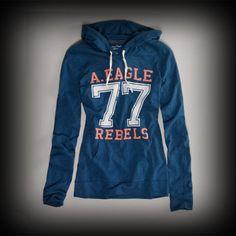 アメリカンイーグル レディース パーカー American Eagle AE SIGNATURE HOODIE パーカー #ITShop