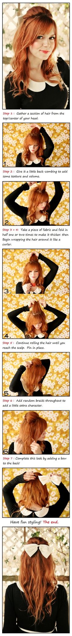 Cute Holiday Hairstyle Tutorial