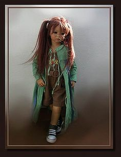 2007 Inari Himstedt dolls Reborn Toddler, Toddler Dolls, Reborn Babies, Teddy Bear Toys, Teddy Bears, Annette Himstedt, Realistic Baby Dolls, Vinyl Dolls, Pretty Baby
