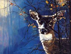 На исходе осень. Животные и птицы художника  Andrew Kiss