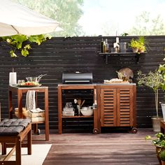 Shop IKEA's wide selection of outdoor accessories, balcony furniture, and patio furniture. Shop looks for any size outdoor space. Black Outdoor Furniture, Fire Pit Furniture, Garden Furniture, Dark Furniture, Furniture Movers, Small Fire Pit, Modern Fire Pit, Fire Pit Chairs, Fire Pit Seating