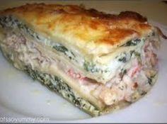 Yum... I'd Pinch That! | Shrimp & Scallop Lasagna