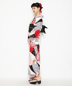 6ec96753ceb46 浴衣「mumlol」(着物 浴衣)|ふりふ(フリフ)のファッション通販 - ZOZOTOWN