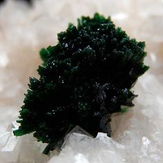 Malachite on Dolomite from Tsumeb Mine, Namibia - rare to come across such gemmy and lustrous quality.