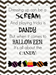 Free Halloween Printable - Just download, print and frame
