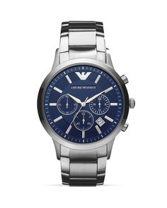 Emporio Armani Renato Bracelet Watch, 43mm Empório Armani, Relógios Para  Homens, Men s Watches e9d31a9283
