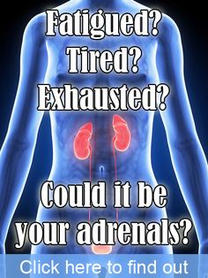 More and more people suffer with adrenal fatigue as our modern world gets busier and we get more stress placed upon us! Find out the symptoms and take back control while you can.