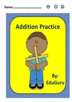 PLEASE RATE THIS FREE PRODUCT AND FOLLOW EduGuru FOR SIMILAR PRODUCTS!Addition Practice is a quick time filler that support students in practicing and reflecting on how well they can add numbers.Students get the answer sheet after completing 2 wheels - They then self assess in order to reflect on their progress!
