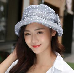 Floral flower bucket hat for women outdoor leisure sun hats 93841cbf9