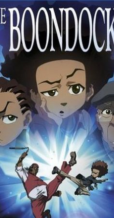 Created by Aaron McGruder.  With Regina King, John Witherspoon, Gary Anthony Williams, Cedric Yarbrough. Based on the comic strip, Huey and Riley move away from the city and out to the suburbs with their irascible grandfather. Biting socio-political commentary ensues.