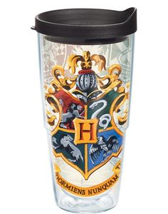 Harry Potter™ - Hogwarts House Crests Wrap With Lid - 24oz tumbler