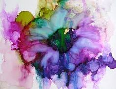 Image result for Alcohol Ink on Canvas