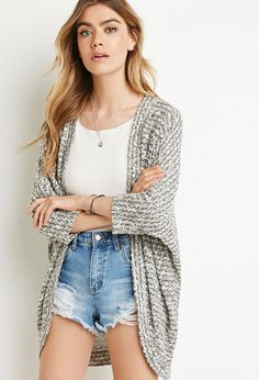Textured Dolman Cardigan | Forever 21 Canada