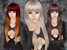 Cazy's Izzy Hairstyle - T-E 2