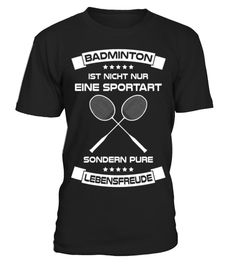 # Badminton ist Lebensfreude .  Du liebst Badminton und möchtest der Welt da draußen Deine Liebe zu dieser Sportart zeigen? Dann ist dieses Shirt genau das richtige für Dich!Ausdauer, Ausdauersport, Bad, Minton, Badminton, Badmintonschläger, Cardio, Doppel, Federball, Federballschläger, Fitness, Fitness, clothing, Lebensfreude, Mannschaftssport, Rückhand, Rückschlagspiel, Schläger, Shuttlecock, Speed, Badminton, Sport, Sportler, Sportlich, Tennis, Training, Wettkampf, Workout
