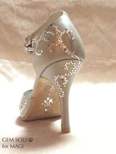 This GEM SOLE for Japanese tango dancer Magi.