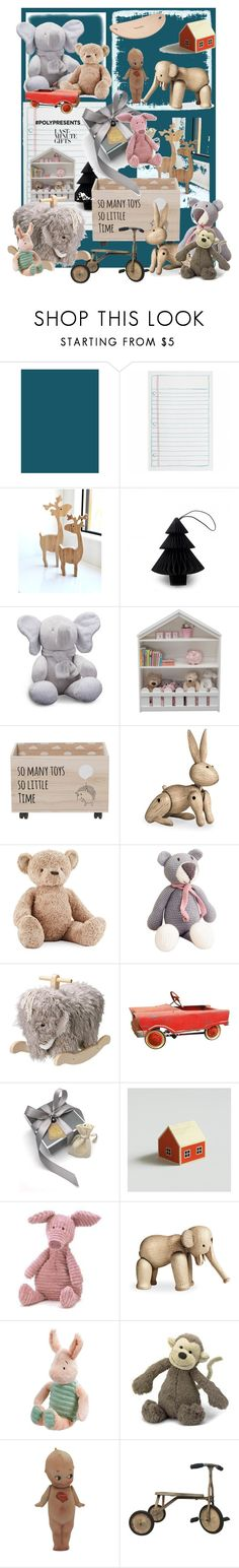 """""""#PolyPresents: Last-Minute Gifts"""" by forkelly1 ❤ liked on Polyvore featuring Rifle Paper Co, Nordstjerne, Ralph Lauren, Serta, Kay Bojesen, Jellycat, PlanToys, O'Neill, contestentry and polyPresents"""