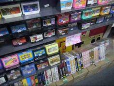 "Retro game shop ""Friends"" in Akihabara - YouTube"