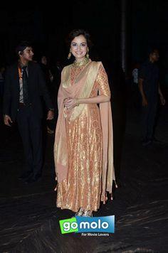 Dia Mirza at Shahid Kapoor's wedding reception in Mumbai