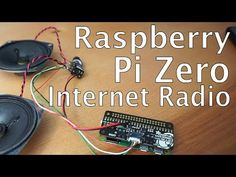 Radios, Raspberry Pi Computer, Pi A, Computer Projects, Diy Tech, Raspberry Pi Projects, Internet Radio, Linux, Arduino