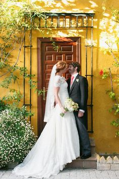 Beautiful Spanish wedding in historic Cadiz, shot by ALea Lovely, from the Summer 2013 issue of Reverie Magazine - www.reveriemag.com