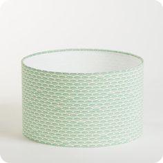 Abat-jour / suspension cylindrique tissu Shawa Ø25