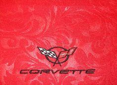 Corvette Dust Cloth C5 with Corvette Logo by NorCalCorvette