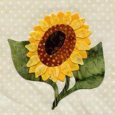 Resultado de imagen para 25 different wild flower quilt. Quilt Block Patterns, Applique Patterns, Applique Quilts, Quilt Blocks, Applique Ideas, Quilt Kits, Applique Designs, Hand Applique, Flower Applique